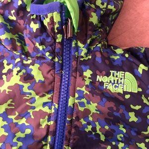 reversible unisex North Face suit